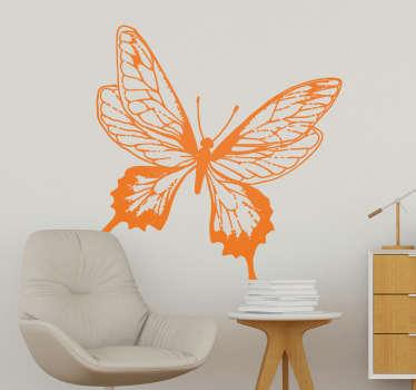 Vinilo insecto Ilustración Mariposa