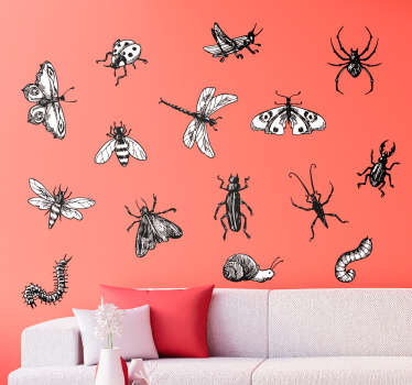 Insect Kit Living Room Wall Decor