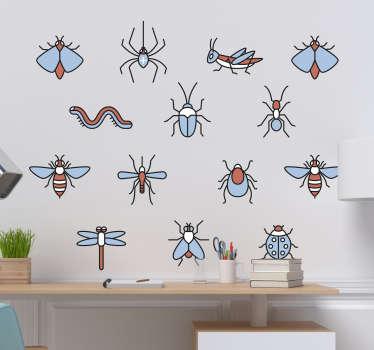 Sticker Maison Kit Insectes