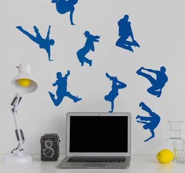 Urban Dance Wall Art Sticker