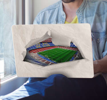 Camp Nou Laptop Skin Sticker