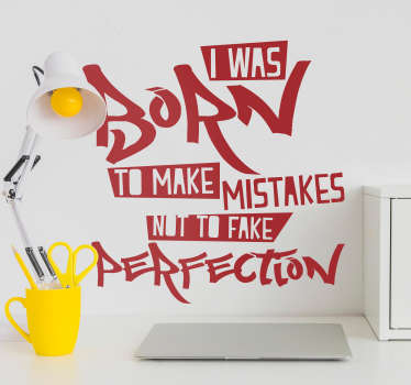 Drake Mistakes Lyric Text Sticker