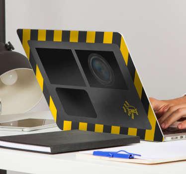 Traffic Radar Laptop Sticker