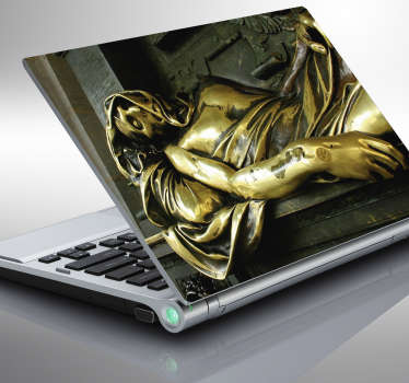 Laptop sticker Monument Everard t' Serclaes