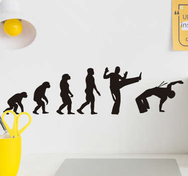 Autocolantes com desenhos Capoeira