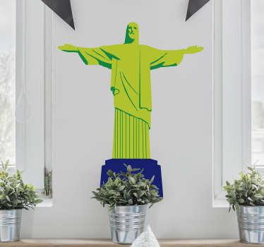 Autocolantes decorativo com desenhos com temas do Brasil. Ideal para quem é apaixonado por esta cultura. Adesivo com vários desenhos.