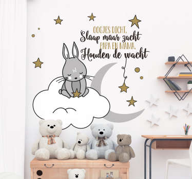 Decoratie Stickers Kinderkamer.Muurstickers Voor De Decoratie Van De Babykamer Tenstickers