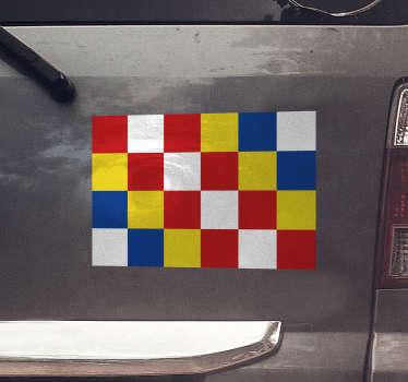 Auto stickers Antwerpen vlag