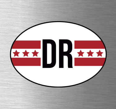 Auto stickers vlag Drenthe
