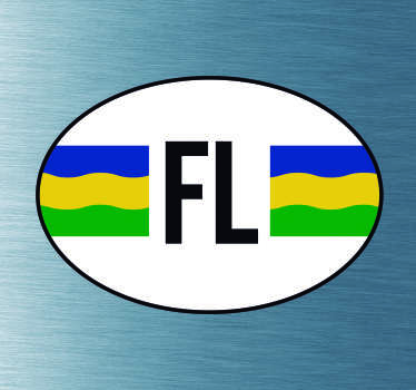 Auto stickers vlag Flevoland