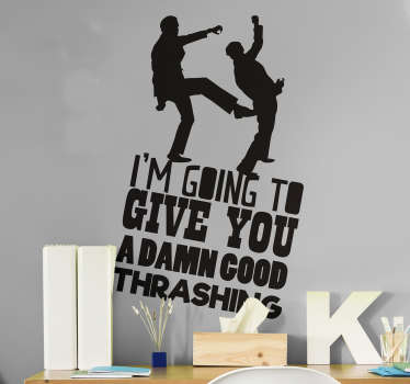 Fawlty Towers Start TV Wall Sticker