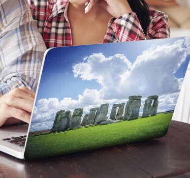 Stonehenge Laptop Sticker