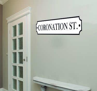 Coronation Street Living Room Wall Decor