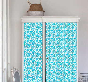 Floral Elephant Pattern vinyl wallpaper
