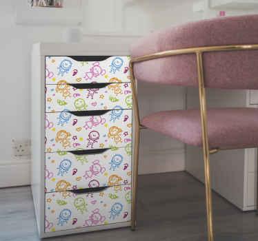 Sticker Meuble Dessins d'enfants