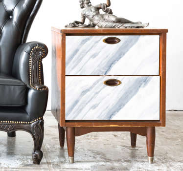 Patterned marble texture furniture sticker to decorate all furniture surface in the home. Available in any desired size and easy to apply.