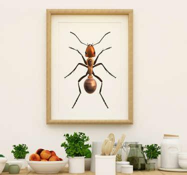 Vinilo original insecto hormiga