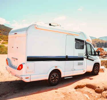 Sidebands karavanska linija nalepke