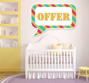 Sticker negozi per bambini 1