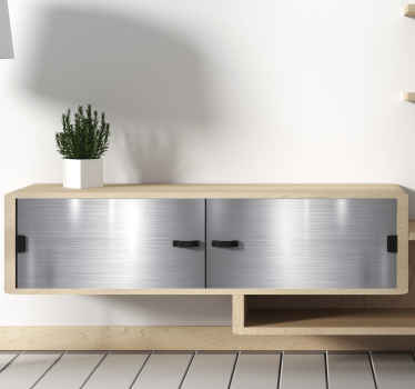 Metallmøbelmøbler klistremerke møbeldeksel