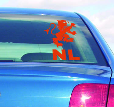 Landen stickers Nederlandse leeuw