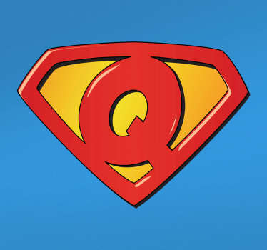 Super Q Home Wall Sticker