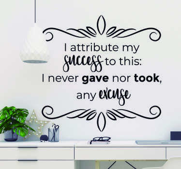 Florence Nightingale Wall Quote Sticker