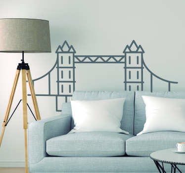 Tower Bridge Living Room Wall Decor