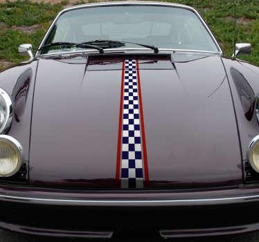 Racing Lines Vehicle Sticker