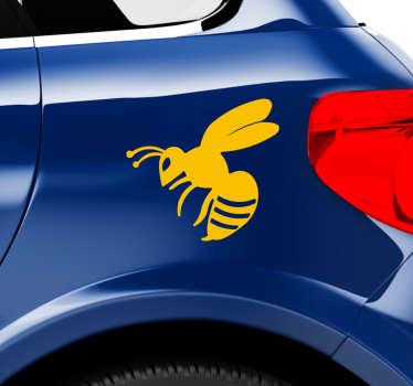 Vinilo coche insecto avispa