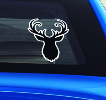 Then this animal vehicle sticker might just be the thing you have been searching for to add that final touch of deer decor to your vehicle!