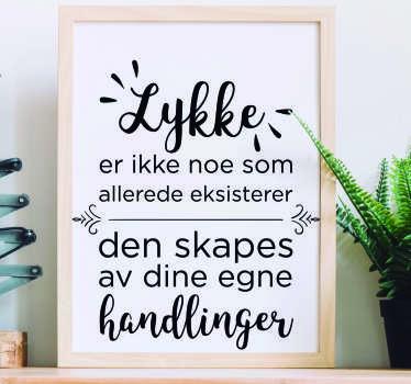 Norge tekst klistremerker til veggen og tekst klistremerker. Våre morsomme tekst klistremerker er tilgjengelige i alle størrelser. Vegg klistremerke med tekst til din stue!