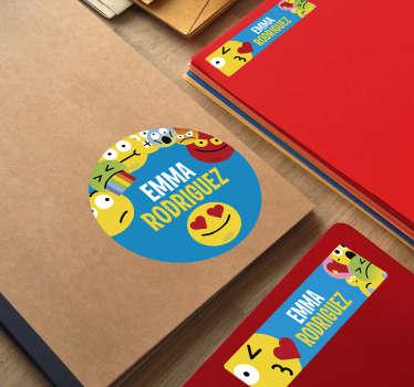 Stickers onderwijs schriften