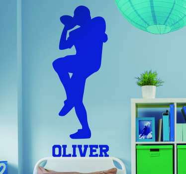 Add some superb football themed decor to your home with this absolutely fantastic customisable sticker! Stickers from A$3.95.