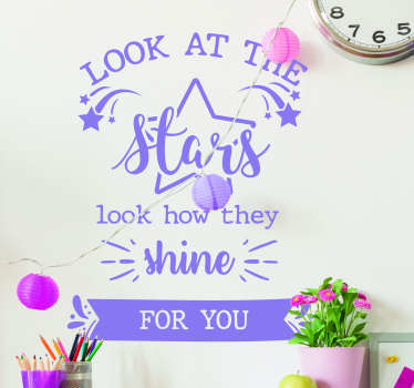 Coldplay Lyrics Text Sticker