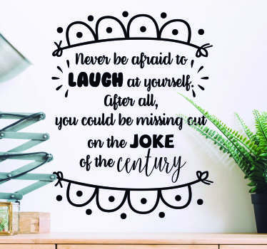 Dame Edna Quote Living Room Wall Decor
