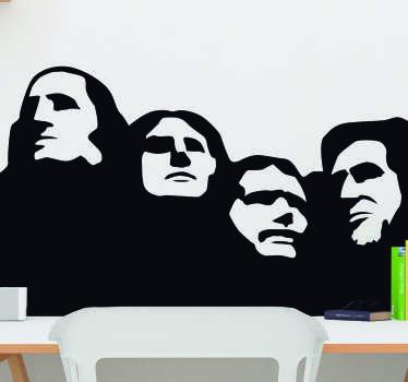 Mount Rushmore Living Room Wall Decor