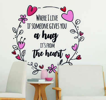 Steve Irwin Hug Living Room Wall Decor