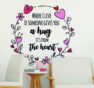 Steve Irwin Hug Living Room Wall Decor