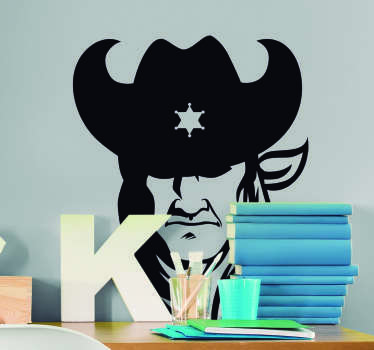 The Sheriff Character Wall Sticker