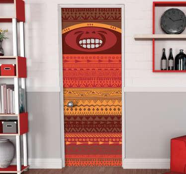 Vinilo habitación infantil Indio pícaro