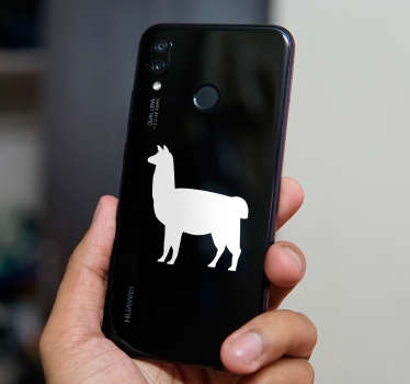 Do you love llamas? If you answer that question affirmatively, then you will surely love this Huawei sticker! Personalised stickers.