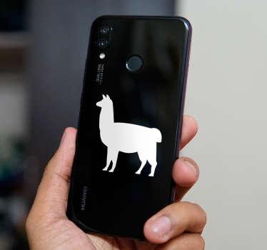 Naklejki na telefon z lamą (Huawei)