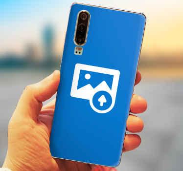Naklejka na telefon Huawei z Twoim zdjęciem