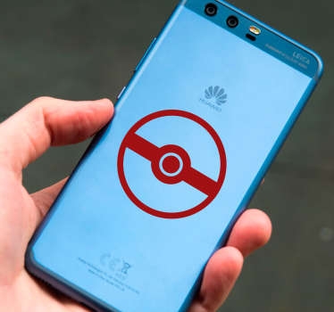 Pokemon Huawei sticker decoratie