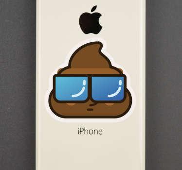 verschiedene Aufkleber der Haufen fürs iPhone