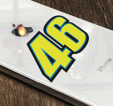 Rossi motor iPhone sticker