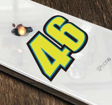 Naklejka Spersonalizowany numer na Iphone