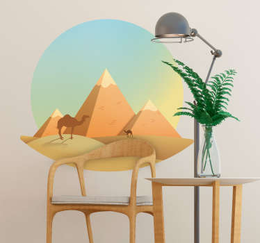 Desert Living Room Wall Decor