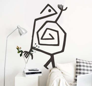 Origineller Aufkleber Paul Klee